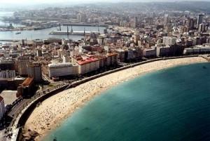 Playas Orzan y Riazor