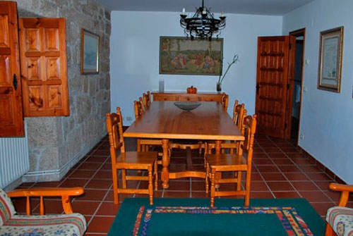 Casa Rural Rectoral de Areas - Comedor