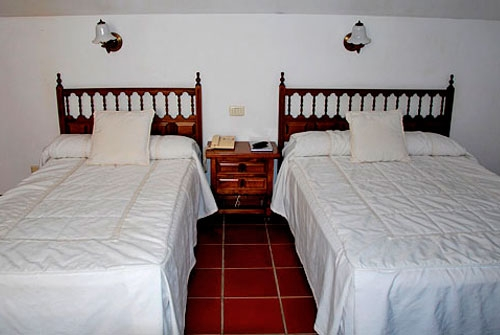 Casa Rural Rectoral de Areas - Dormitorio dos cama