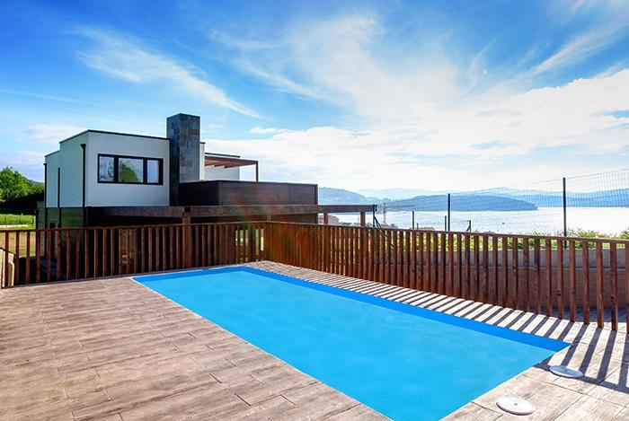 Alquiler de casas de vacaciones villas y chalets en - Apartamentos con piscina en galicia ...