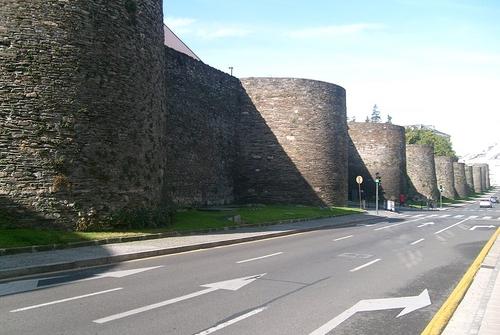 Muralla romana de lugo turismo de galicia for Registro de la propiedad lugo