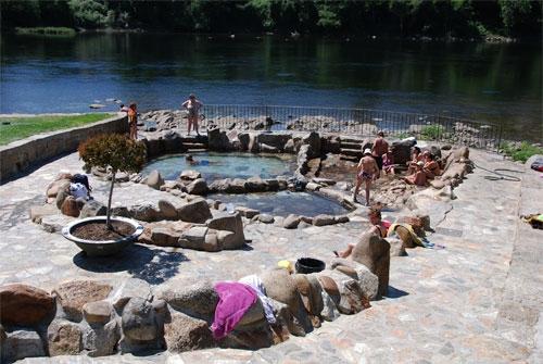 Baños Romanos Ourense:Temalismo en Galicia Termas públicas