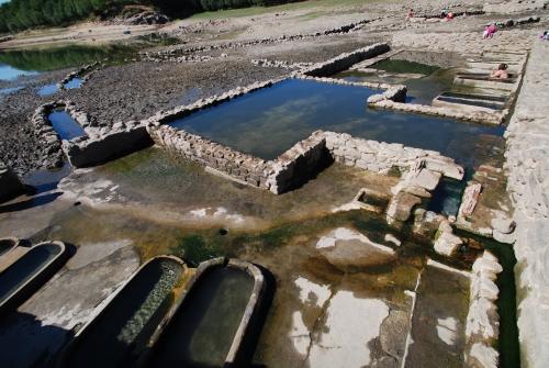 Baños Romanos Ourense:Termas libres do Baño en Bande, Ourense